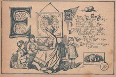 Victorian ABC's - E - The Graphics Fairy