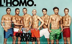 Dutch athletes on the cover from Dutch magazine L'Homo Magazine L, Dutch Women, Kingdom Of The Netherlands, Nothing To Fear, Olympic Sports, Athletic Men, People Like, Gymnastics, Hot Guys