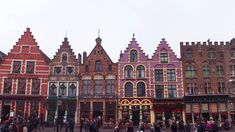 Markt in Brugge (Bruges), Belgium in winter for Christmas.