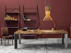 Tavolo rettangolare in legno massello MASTER | Tavolo in legno massello by Devina Nais