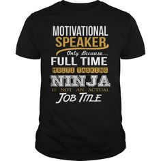 ((Top Tshirt Design) MOTIVATIONAL SPEAKER NINJA NEW [TShirt 2016] Hoodies