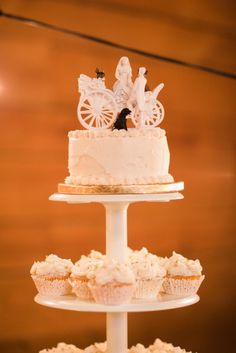 Wedding Cake Topper | Wedding by Embrace the Day Events | Allen Tsai Photography | Classic Oaks Ranch | Uptown Sound | Tracy Melton Artistry | Pam's Ribbons & Roses | May I Serve U