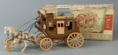 113.519: Davy Crockett Alamo Express Fix-It Stage Coach | Stage Coach | Play Sets | Toys | Online Collections | The Strong