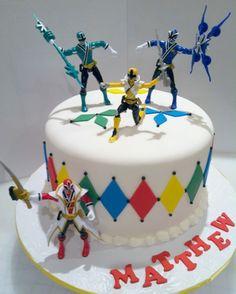 Power Rangers Cakes