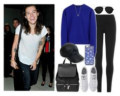 """""""LAX with Harry: Los Angeles, California - 20 January 2016"""" by thisistheend ❤ liked on Polyvore featuring DKNY, Acne Studios, 3.1 Phillip Lim, adidas, Diane Von Furstenberg, Vianel, COSTUME NATIONAL and Jennifer Meyer Jewelry"""