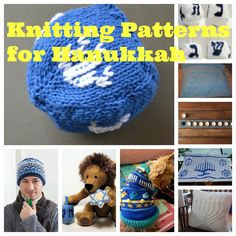 Knit up something special to celebrate Hanukkah.