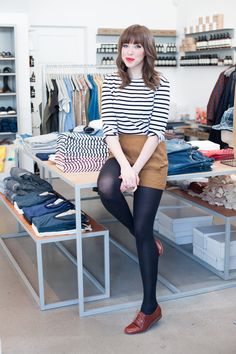 "Behind The Scenes At Mill Mercantile #refinery29 http://www.refinery29.com/mill-mercantile#slide13 Name: Kelsey Williams Gig: assistant manager What do you love most about working at Mill? ""I'm not a California native, so I really enjoy being able to interact with the amazing people who live in this city. I've learned so much about San Francisco and the joys of other people's lives here just from being around our customers! And, I can't even begin to describe how wonderful the girls I ..."