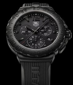 Tag Heuer. Update: bumped off by my new TechnoMarine Night Vision II black on black wrist candy. :D