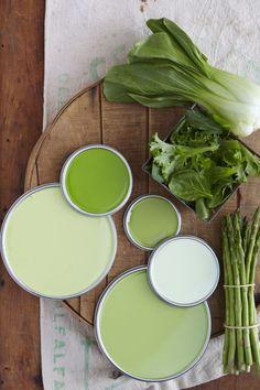 10 unieke kleurencombinaties voor in huis   groen - Makeover.nl