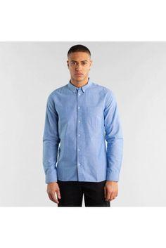 Pánske košele od Etikbutik Denim Button Up, Button Up Shirts, Tops, Fashion, Moda, Fashion Styles, Fashion Illustrations