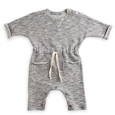 The Wolf Cub & Luna : thewolfcub.com - One more in the Family jumpsuit #babyfashion