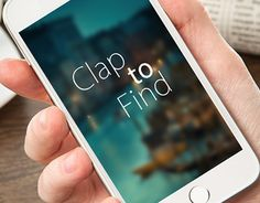 """Check out new work on my @Behance portfolio: """"App_Design_Android_Clap_to_Find_vvk """" http://on.be.net/1LRUvfd"""