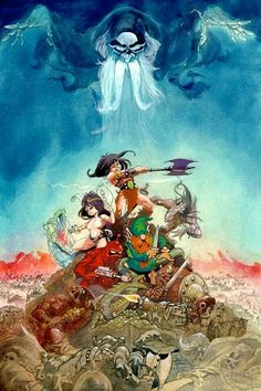 Ralph Bakshi wizards