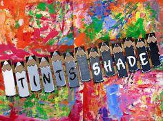 Cassie Stephens: 22 Fun Projects to Rainbow-ize Your Art Room! Art Classroom Posters, Art Classroom Decor, Art Room Posters, Classroom Organization, Classroom Management, Classroom Ideas, Color Posters, Classroom Displays, Kids Room Art