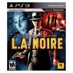 แผ่นเกมส์ PS3 L.A. Noire