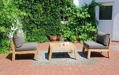 SonnenPartner CLIFTON Möbel Kollektion Teak Holz Outdoor Furniture Sets, Outdoor Decor, Home Decor, Beach Tops, Lounge Furniture, Armchair, Lawn And Garden, Decoration Home, Room Decor