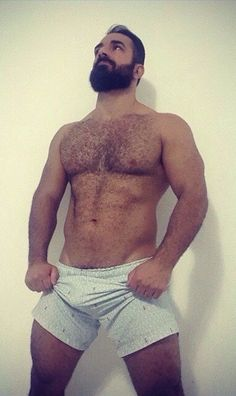 MUSCLEBEAR PERSONIFIED
