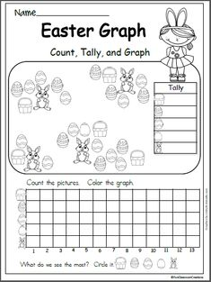 Free Easter Graph Worksheet