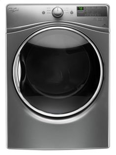 WED85HEFC in Chrome Shadow by Whirlpool #REBATE in Westwood, NJ - 7.4 Cu. Ft. Front Load Electric Dryer with Advanced Moisture Sensing System