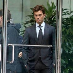 THAT LOOK Jamie Dornan on Fifty Shades Set for (10/13/2014) http://www.pinterest.com/lilyslibrary/