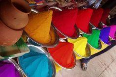 mundo, cores  Festival das cores, Índia