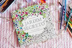 Resultado de imagem para jardim secreto livro colorir