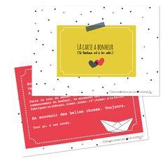 Cartes à imprimer Diy Gifts For Friends, Le Jolie, Album, Paper Dolls, Free Printables, Dots, Labels, Info, Scrapbooking