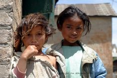 Girls in Madagascar, Africa