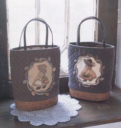 Bonnet Sue shoulder tote shopping Bag Handbag  purse women sewing quliting quilt patchwork applique pdf pattern patterns ebook. $6.00, via Etsy.