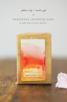 Handmade Lavender Soap for a Father's Day or a last day of school Teacher Gift Craft Activities For Kids, Projects For Kids, Craft Projects, Project Ideas, Craft Ideas, Diy Gifts, Handmade Gifts, Lavender Soap, Color Crafts