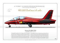 Aermacchi MB-339A 150 anni del 214° Gruppo