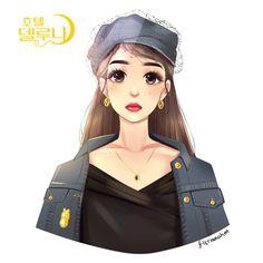 Phone Wallpaper Images, Drama Film, Cute Cartoon Wallpapers, Fanart, Lovers Art, Kdrama, Chibi, Anime Art, Korean Dramas