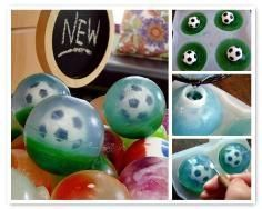 15 Soccer Crafts About Family Crafts Soccer Crafts, Soap Melt And Pour, Lemon Soap, Soap Tutorial, Cup Crafts, Family Crafts, Soap Packaging, Home Made Soap, Handmade Soaps