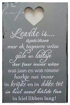 Leafde is.....