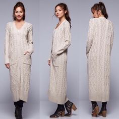 DM ClothesAddict - Torey Beige Duster, $79.90 (http://dillynnmiles.com/torey-beige-duster/)