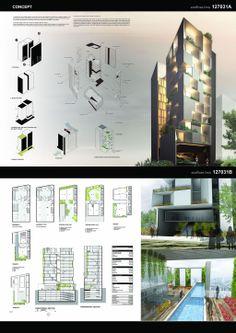 Concept Models Architecture, Architecture Presentation Board, Architecture Panel, Green Architecture, Sustainable Architecture, Studio Floor Plans, Facade Design, Baghdad, Architect Design