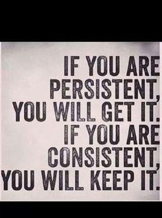 Persistent vs. Consistent