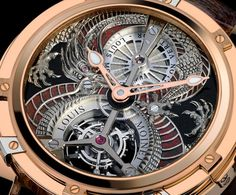 Louis Moinet Dragon Tourbillon | juwelier-haeger.de Dream Watches, Luxury Watches, Cool Watches, Watches For Men, Tourbillon Watch, Perfect Timing, Textures Patterns, Clocks, How To Look Better