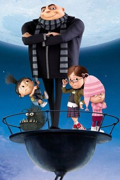 Pin for Later: Halloween: Over 100 Disney Costumes That Will Win Every Contest Despicable Me Options: Gru, Vector, Dr. Nefario, Mr. Perkins, Dave the Minion, Miss Hattie, Margo, Edith, Agnes
