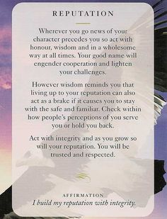 Today's Wisdom Card – Diana Cooper                                                                                                                                                     More