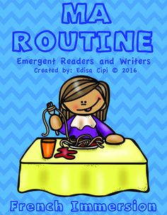 Teachers Save Yourself Hours of Work!Watch your students learn French quickly and effortlessly with this Fun and Engaging French Immersion Resource! There are 8 Parts to this resource!The following are included:1. FIRST PART: Big Book in full colour! 16 fun illustrations with a simple sentence at the top of the pageFocus: Reading!2.
