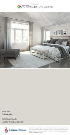 Sherwin Williams 6534 Icy In 2019 Bedroom Paint Colors Blue Bedroom Paint, Bedroom Wall Colors, Living Room Colors, Master Bedroom, Blue Bedrooms, Girls Bedroom, Blue Paint Colors, Paint Colors For Home, House Colors