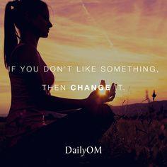 #DailyOM #quotes #change