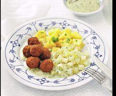 Rezept Bratwurstbällchen mit Kohlrabi und Kartoffeln (Finessen 03/2014) von SiMiSey8607 - Rezept der Kategorie Hauptgerichte mit Fleisch