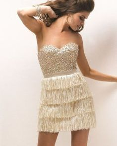 old hollywood gatsby style rehearsal dinner dress, wedding reception dress, informal wedding dress or exit dress