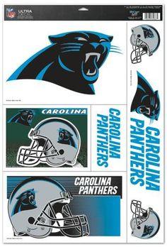 Carolina Panthers Decal 11x17 Ultra