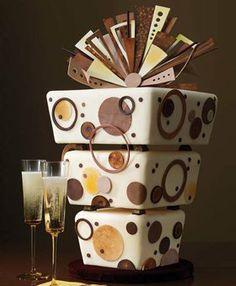 Birthday Cake Modern Art : Elegant+50th+Birthday+Cakes ... Birthday Cakes Elegant ...