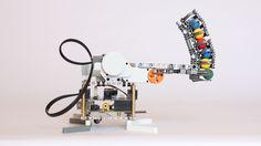 Build your own Shooter Robot with #LegoMindstorm and the #BrickPi! #RaspberryPi #DexterIndustries #Robotics