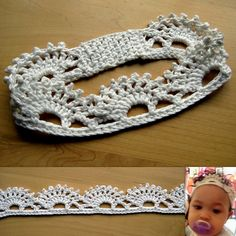 Ravelry: Tiara Headband pattern by Esther Chandler