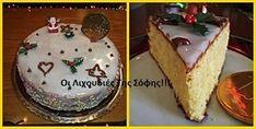 Βασιλόπιτα κέικ με πορτοκαλάδα Greek Sweets, Greek Desserts, Greek Recipes, Cake Frosting Recipe, Frosting Recipes, Sweets Recipes, Cake Recipes, Xmas Recipes, Vasilopita Cake